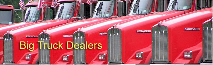 Find commercial truck dealers, for Mack, Freightliner, Isuzu, Peterbilt, International, and Kenworth